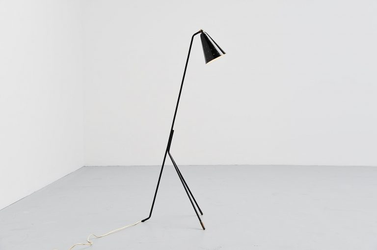 Svend Aage Holm-Sorensen reading lamp Denmark 1950