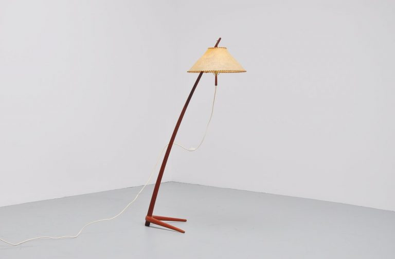 J.T. Kalmar Dornstab floor lamp Austria 1947