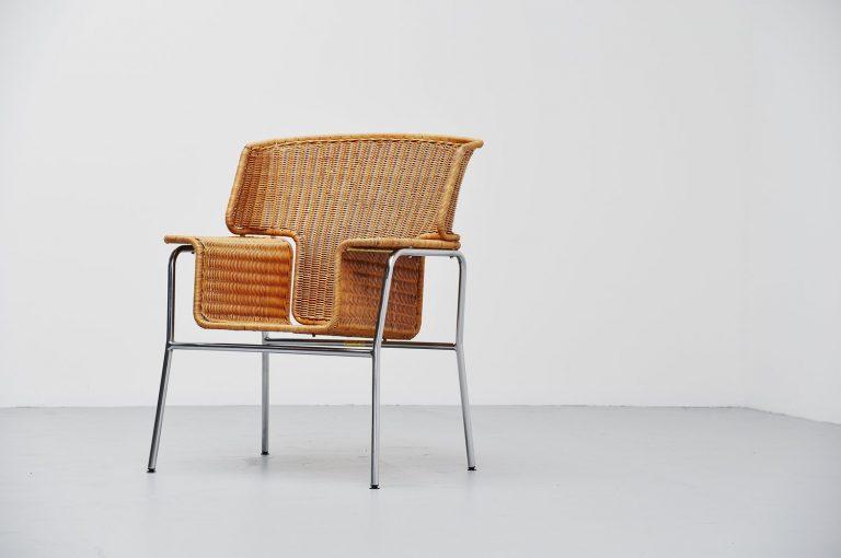 Dirk van Sliedrecht armchair Rohe Noordwolde Holland 1969