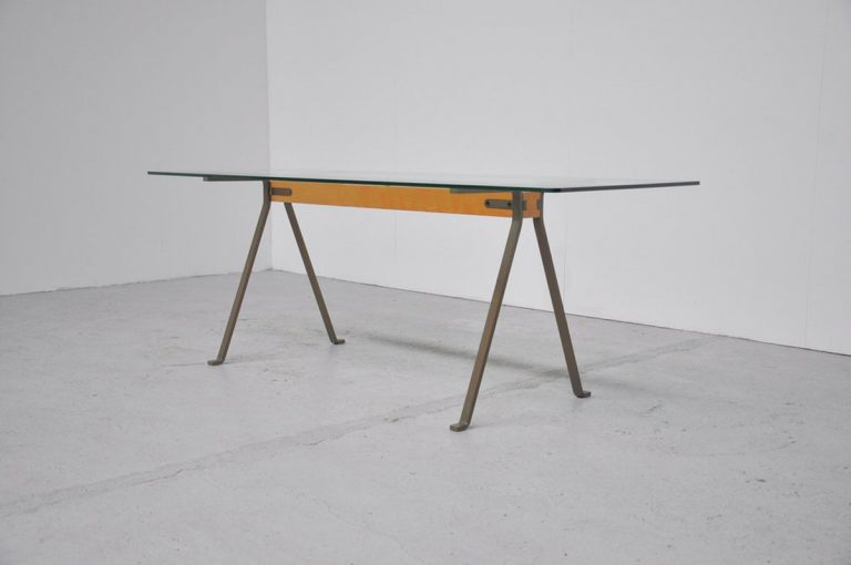 Enzo Mari Frate dining table, Driade 1973