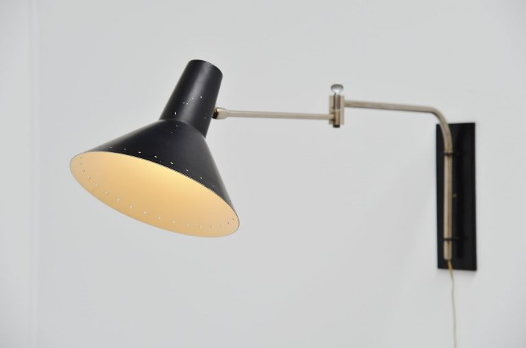 Artimeta adjustable wall lamp Holland 1960