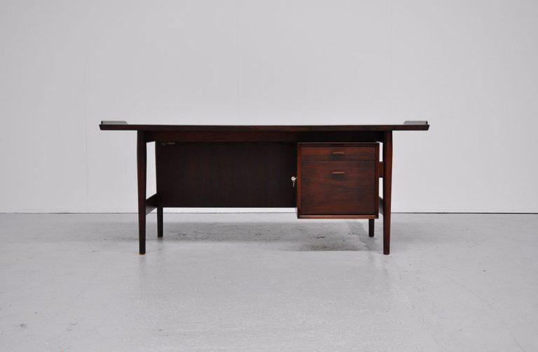 Arne Vodder rosewood desk Sibast 1960