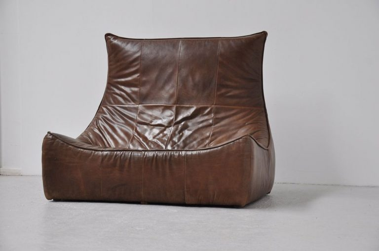 Rock sofa Gerard van den Berg Montis brown 1970