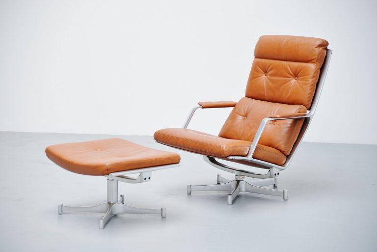 Preben Fabricius Jorgen Kastholm FK85 lounge chair Kill 1963