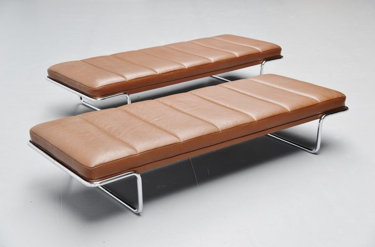 Bernd Munzebrock daybed for Knoll International Germany 1973