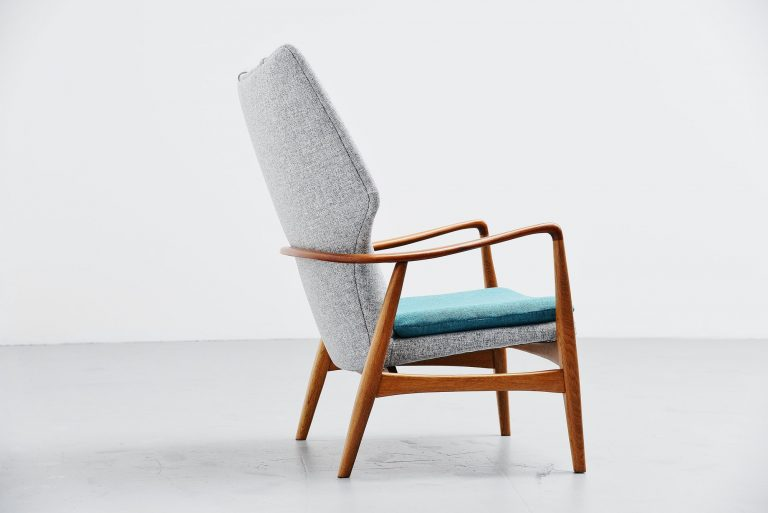 Bovenkamp wingback chair Aksel Bender Madsen Holland 1959