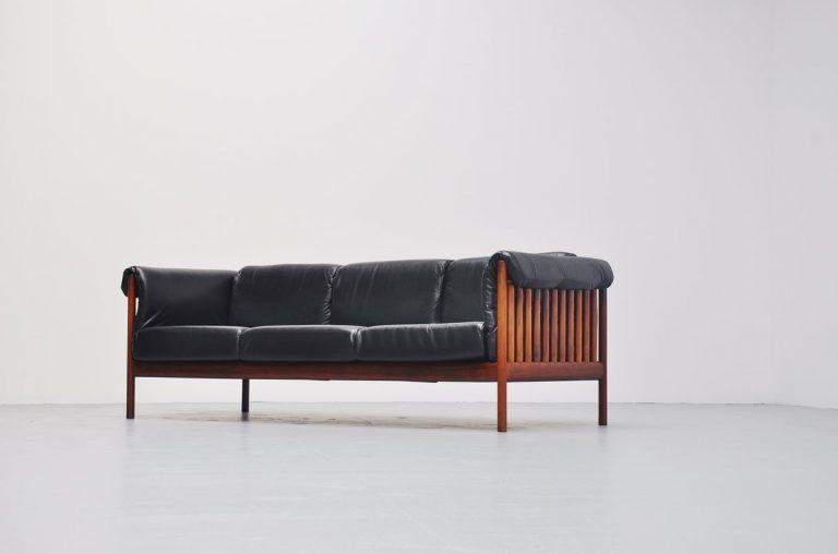Johannes Andersen lounge sofa Silkeborg Denmark 1960