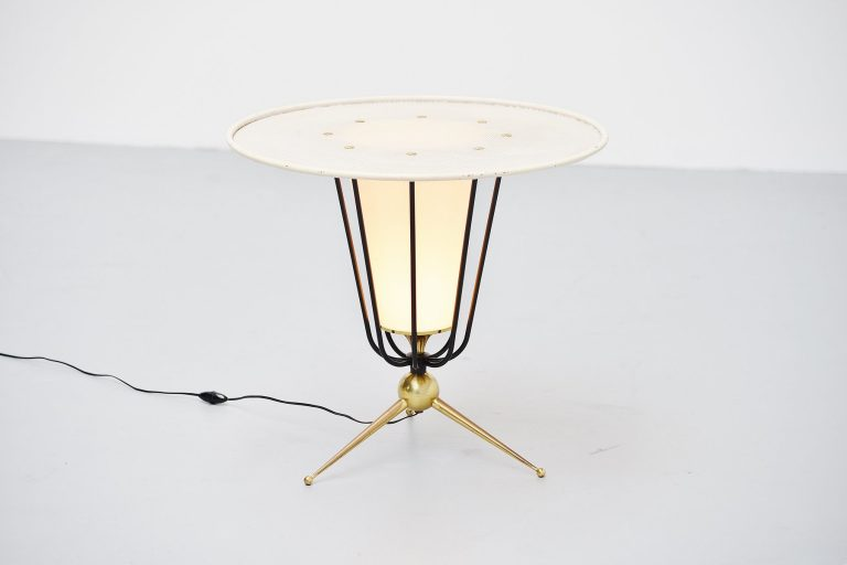 Pierre Guariche attributed floor lamp France 1950
