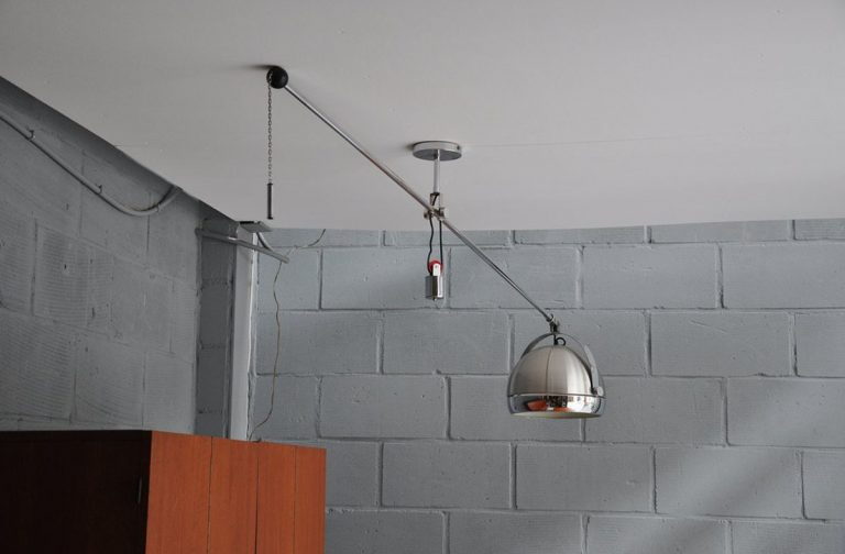Studio Reggiani balance lamp 1970