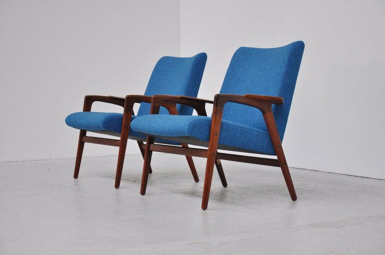 Yngve Ekstrom Ruster chairs Pastoe 1960
