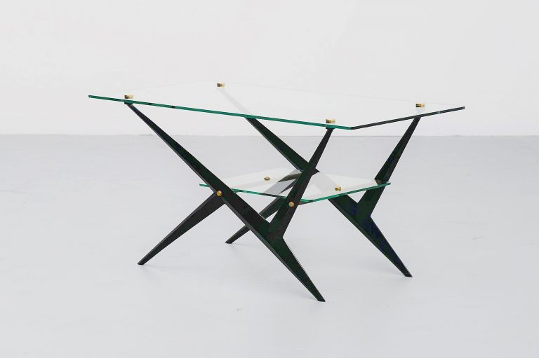 Angelo Ostuni cocktail table Italy 1950