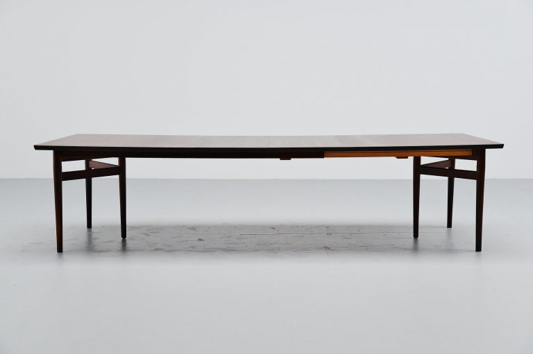 Arne Vodder conference table Sibast Mobler Denmark 1960