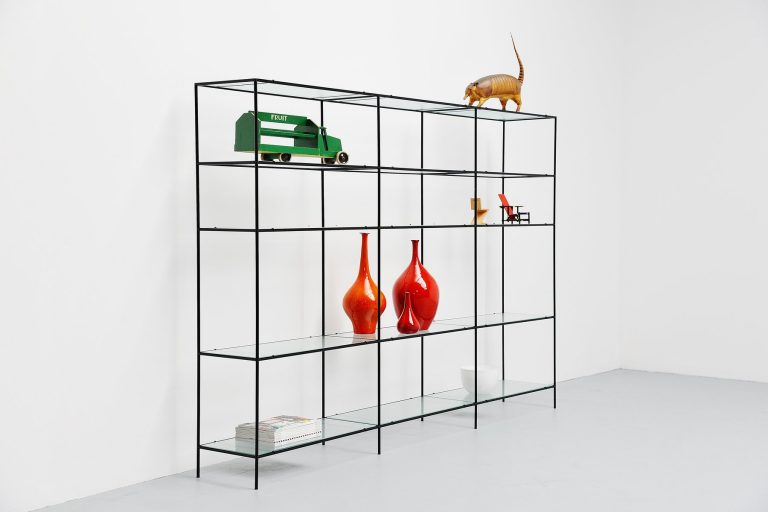 Poul Cadovius Abstracta shelving system Denmark 1960