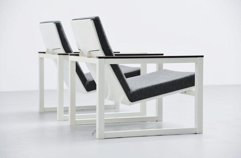 Friso Kramer & Tjerk Reijenga lounge chairs Pilastro 1965