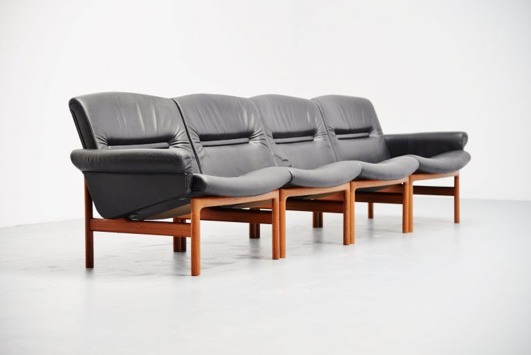 Danish elemented sofa made in Denmark 1965
