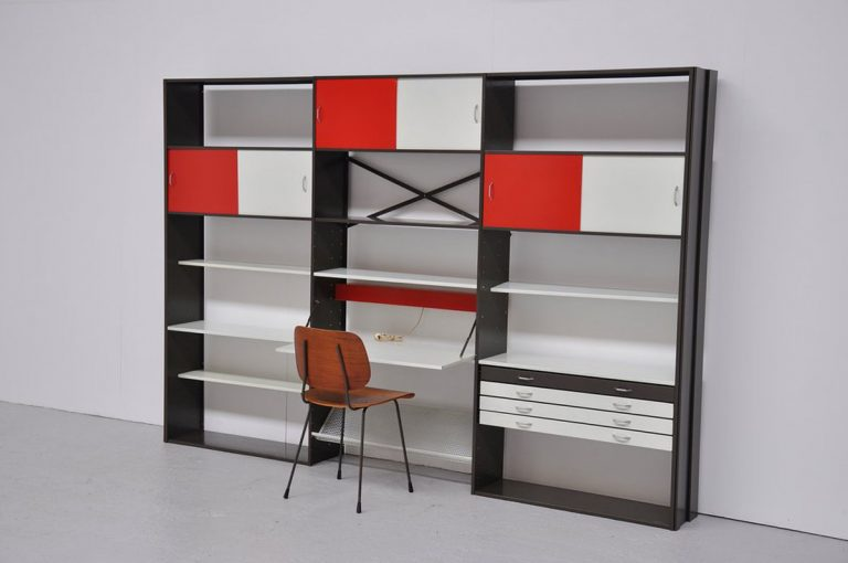 Pilastro modular bookcase unit 1960
