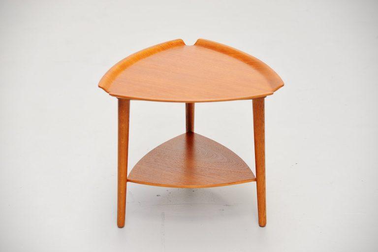 Hans Olsen side table Bramin Denmark 1950