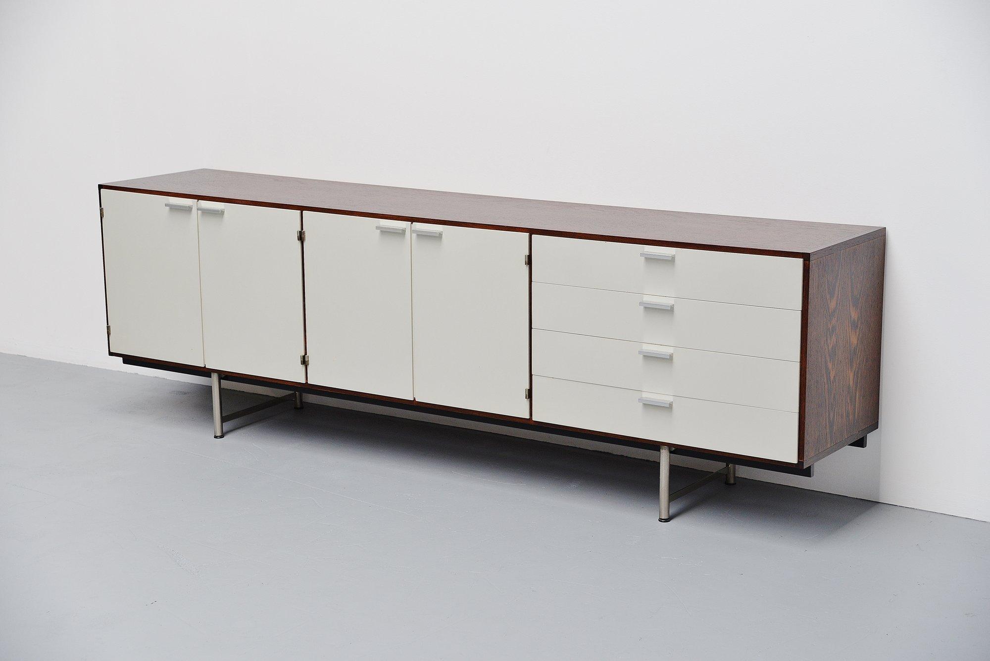 Pastoe sideboard made to measure Cees Braakman Holland 1960 u2013 MassModernDesign