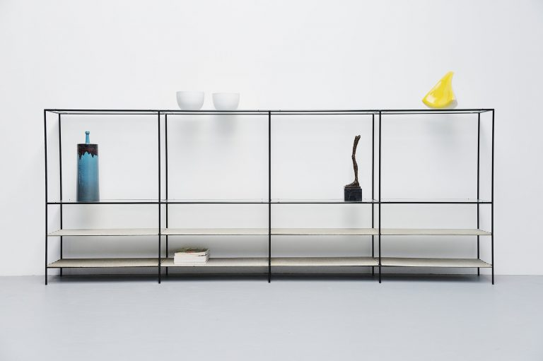 Abstracta shelving unit by Poul Cadovius Royal System 1960