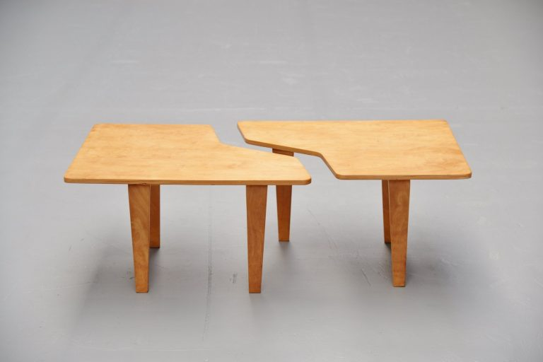 Pastoe TB14 puzzle table by Cees Braakman 1954