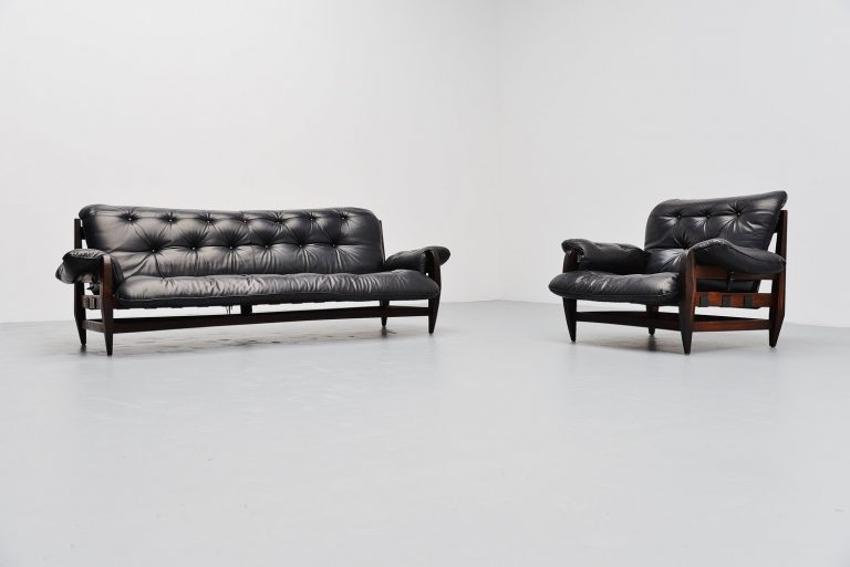 Jean Gillon Woodard sofa set Brazil 1965