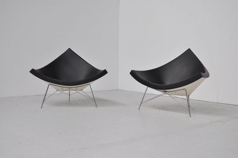 George Nelson Coconut chairs 1956