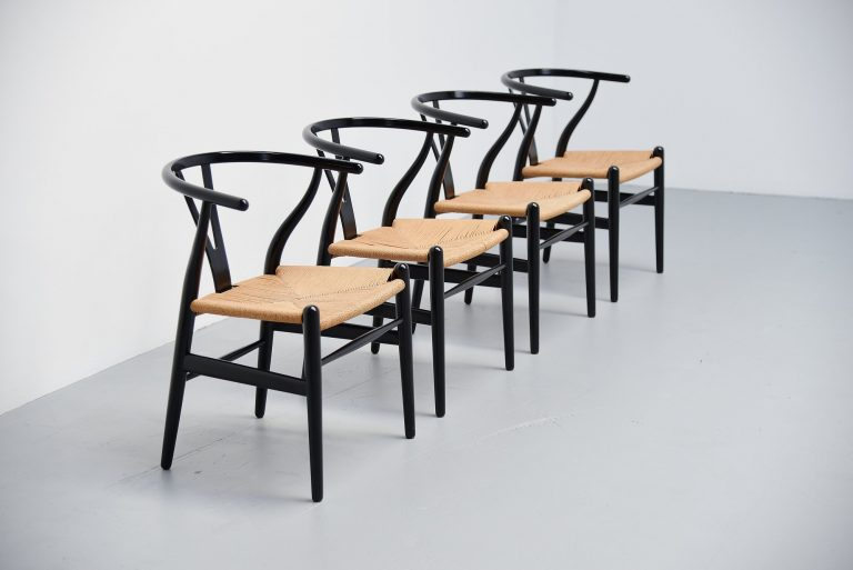 Hans Wegner Wishbone chairs Carl Hansen Denmark 1949