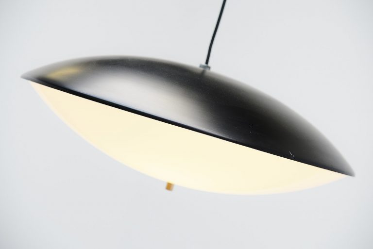 Anvia disc pendant lamp JJM Hoogervorst Holland 1950
