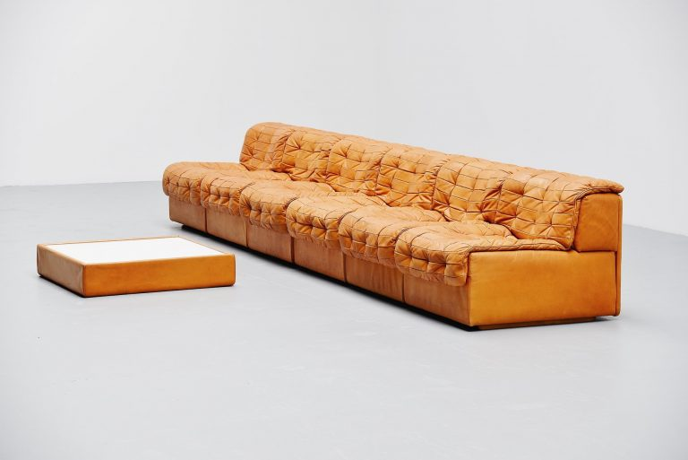 De Sede DS11 patchwork element sofa Switzerland 1970