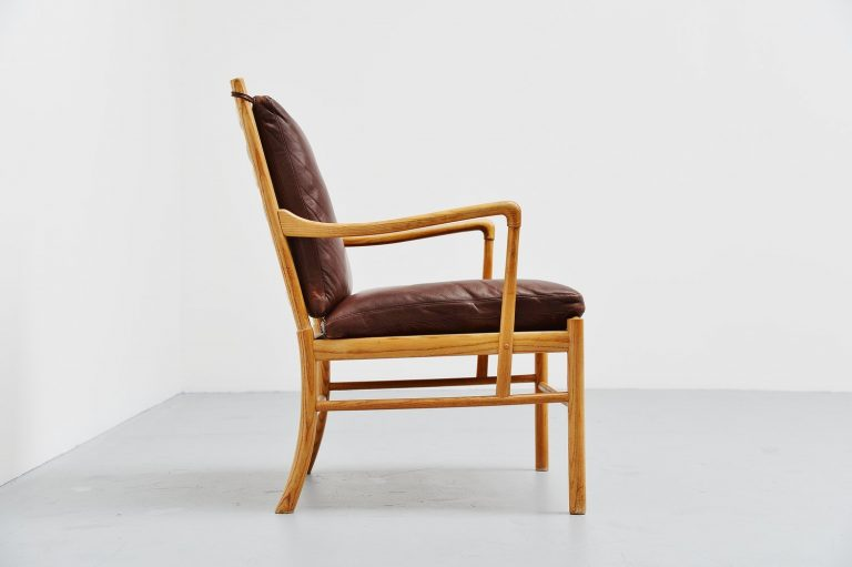 Ole Wanscher Colonial chair in oak P Jeppesen Denmark 1959