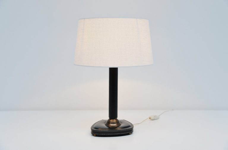 Jacques Adnet style table lamp France 1960