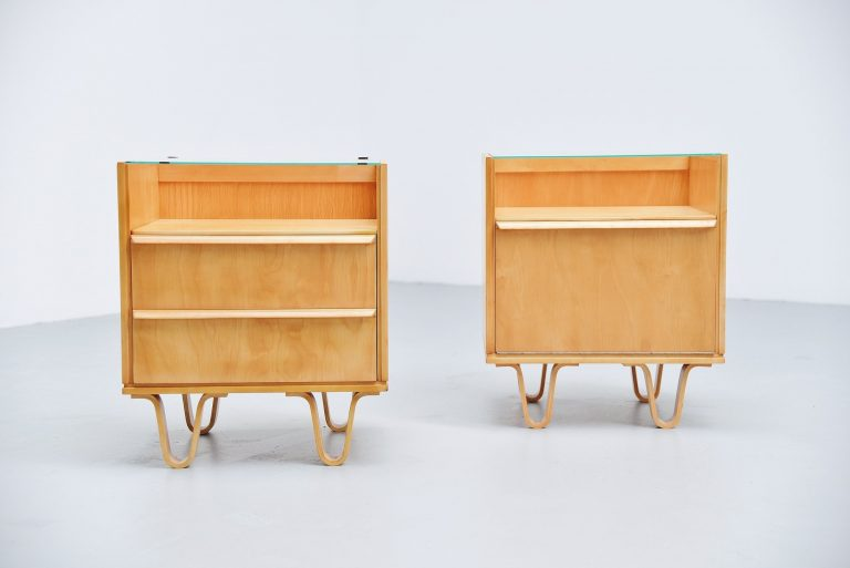 Pastoe night cabinets Cees Braakman Holland 1952