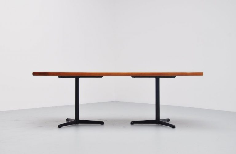 Osvaldo Borsani conference table / desk Tecno Italy 1954