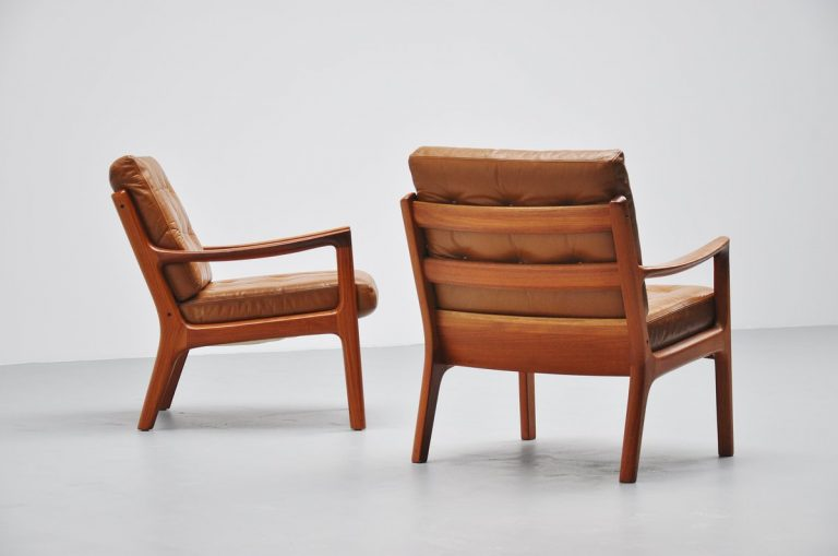 Ole Wanscher Senator chairs #166 France & Son 1951