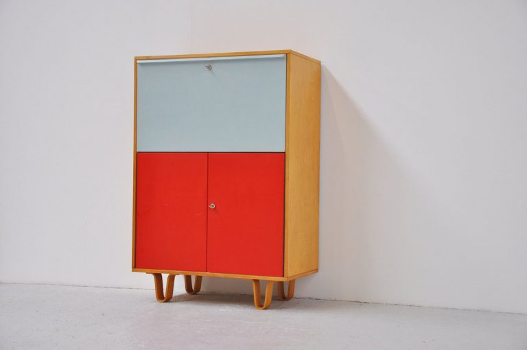 Pastoe beech writing desk Cees Braakman 1950