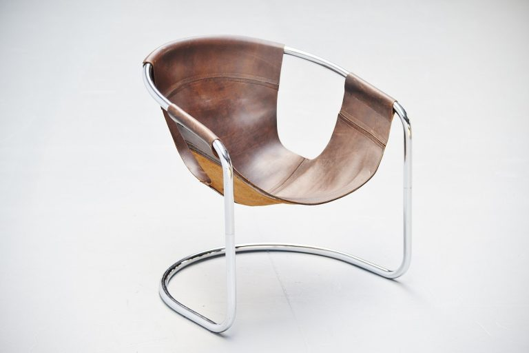 Clemens Claessen lounge chair Ba-as Holland 1965