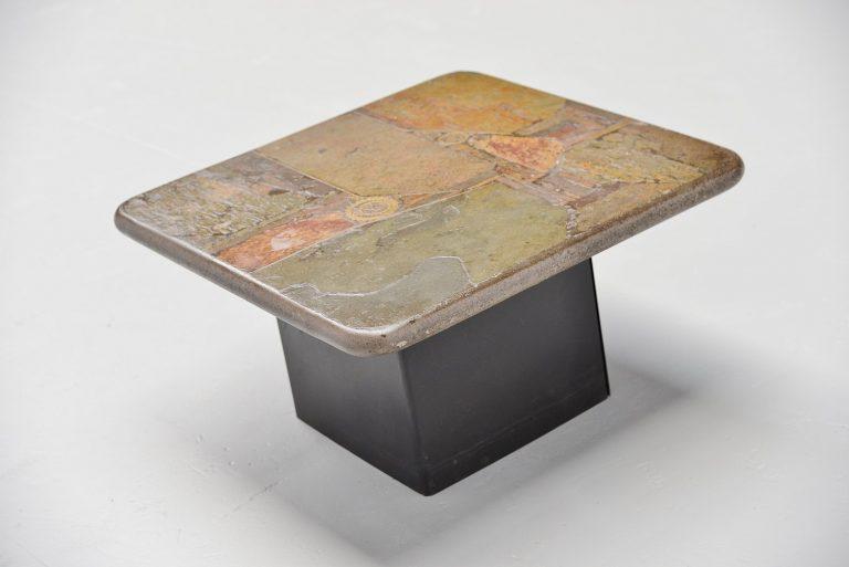 Marcus Kingma artwork side table Holland 1990