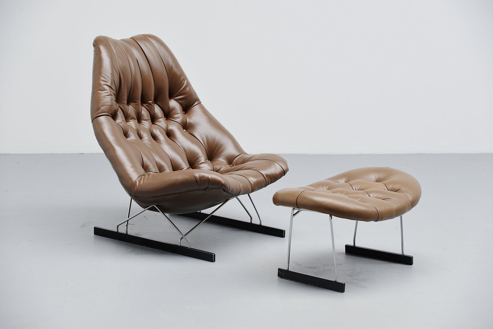 Geoffrey Harcourt F592 Lounge Chair Artifort 1966