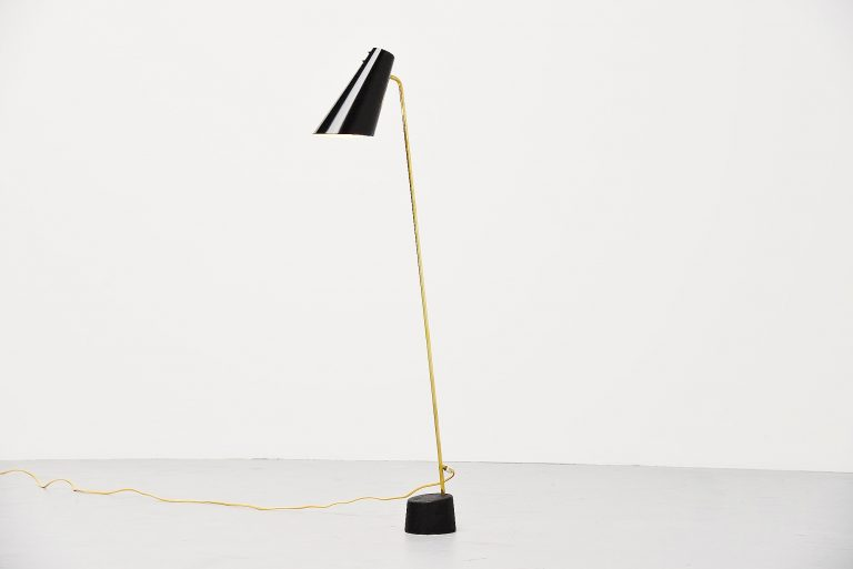 Asea reading floor lamp Sweden 1960