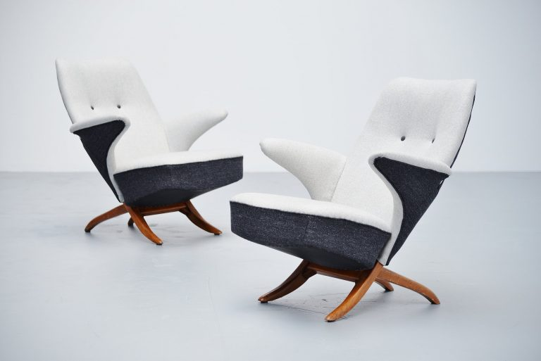 Theo Ruth Pinguin chairs Artifort 1957
