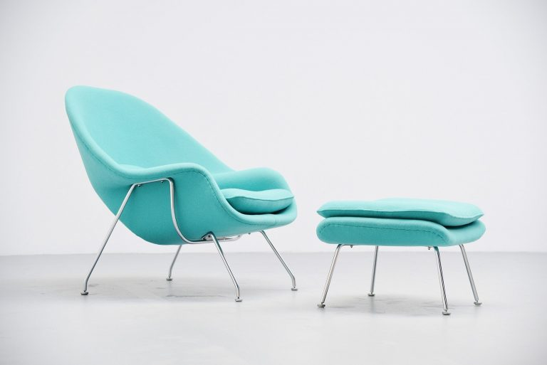 Eero Saarinen Womb chair Knoll International USA 1952