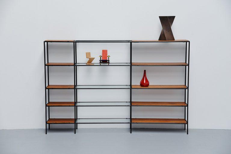 Poul Cadovius Abstracta bookcase unit Denmark 1960