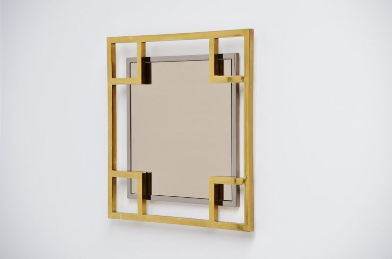 Maison Jansen wall mirror France 1970