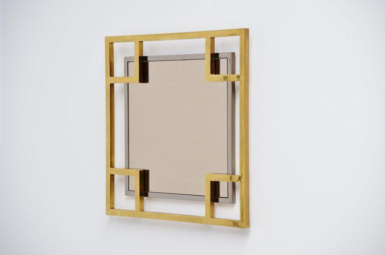 Maison Jansen wall mirror France 1970
