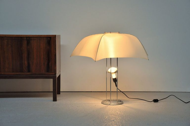 Gijs Bakker umbrella lamp 1973