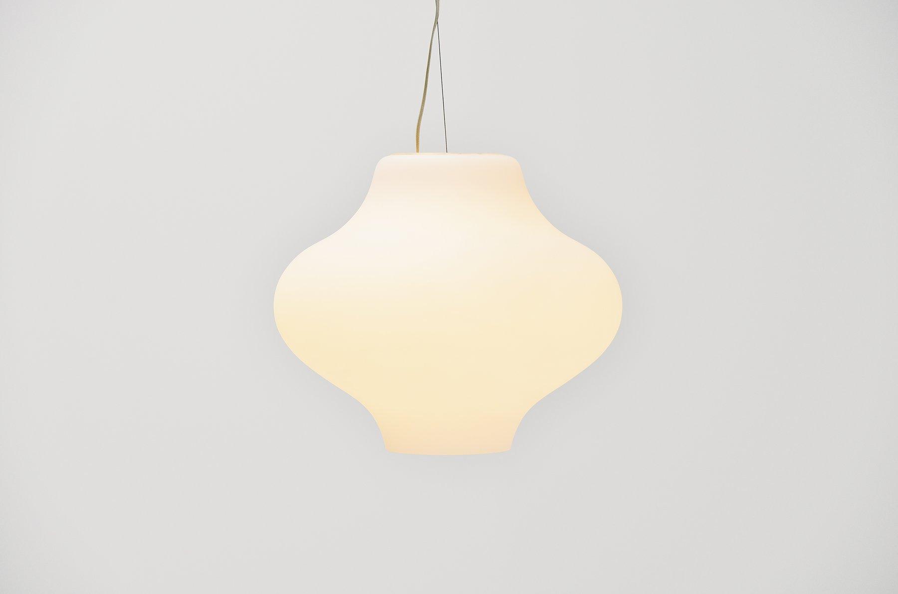 Paolo Rizzatto Cina Pendant Lamp Arteluce 1982
