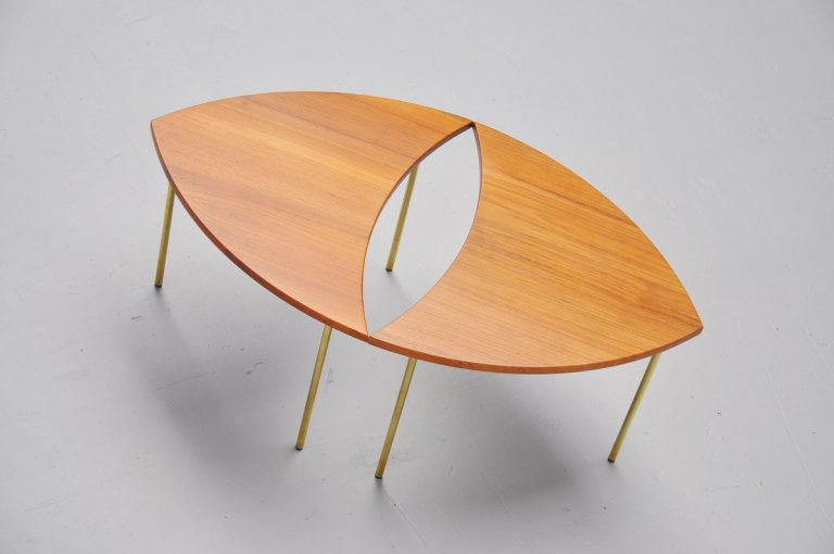 Peter Hvidt & Orla Molgaard Nielsen side tables France & Son 1952