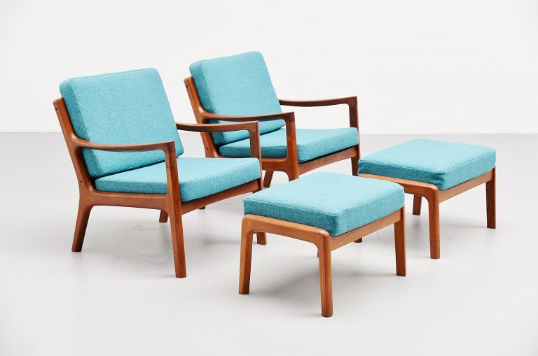Ole Wanscher senator chairs set France & Son 1951