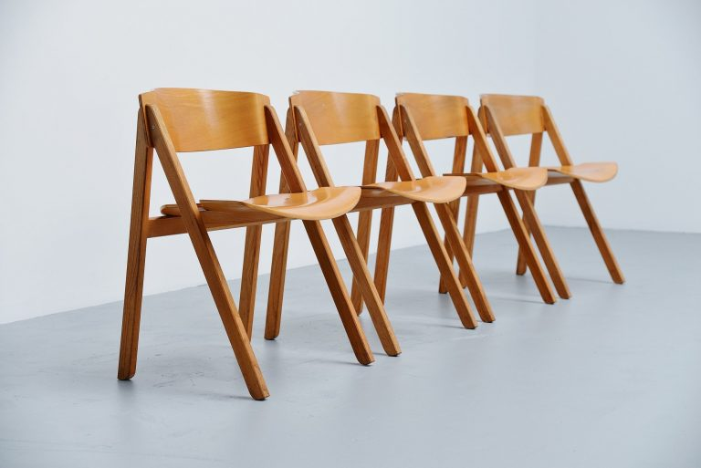 Victor Bernt dining chairs Soren Willadsen Denmark 1972