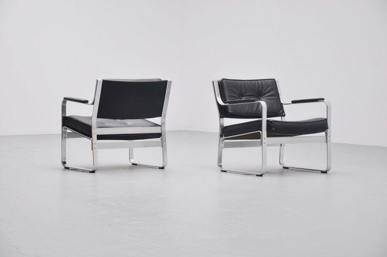 Karl Erik Ekselius Mondo lounge chairs JOC Sweden 1965